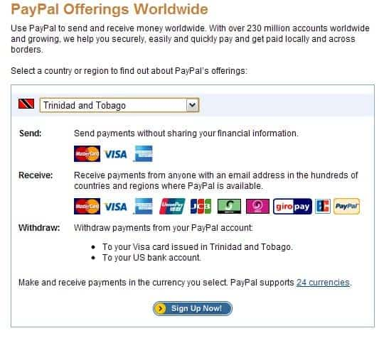Paypal-services-for-trinidad-t