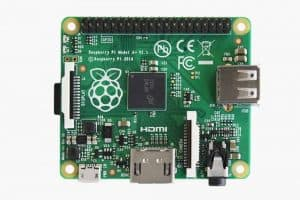 Raspberry Pi Model A+ (source  : http://www.raspberrypi.org/)